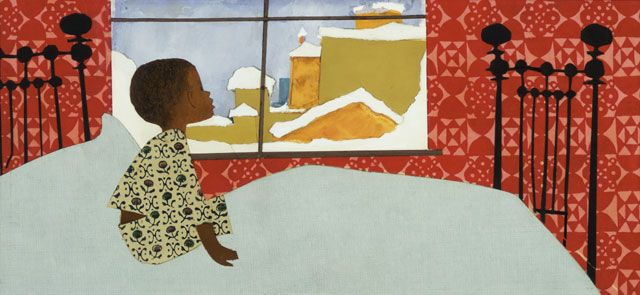 Ezra Jack Keats - from The Snowy Day