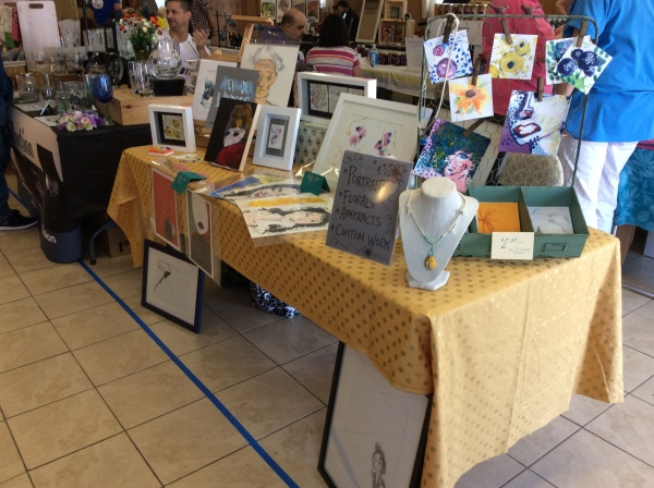 Creating a Beautiful (and Effective!) Art/Craft/Vendor Display by Alex Landers at OuttaThePlayhouse.com